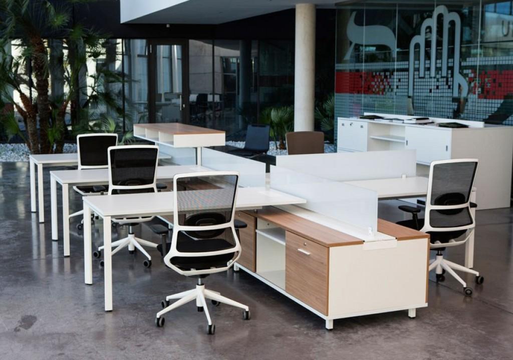 Mobiliario de oficina asturias mesa despacho with for Muebles de oficina gijon