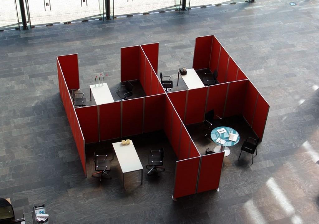 Muebles directo mobiliario de oficina en asturias - Separadores de oficina ...